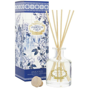 Portus Cale Gold & Blue Fragrance Reed Diffuser 100ml