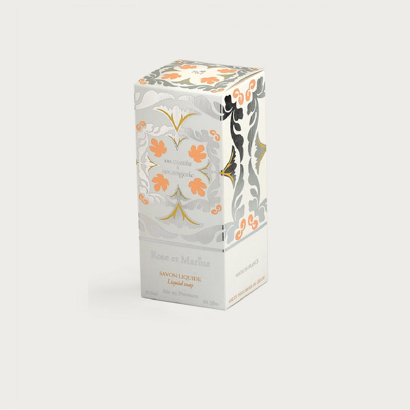 "Rose et Marius Natural Liquid Soap Orange Flowers ""Early Morning in the Orange Grove"""