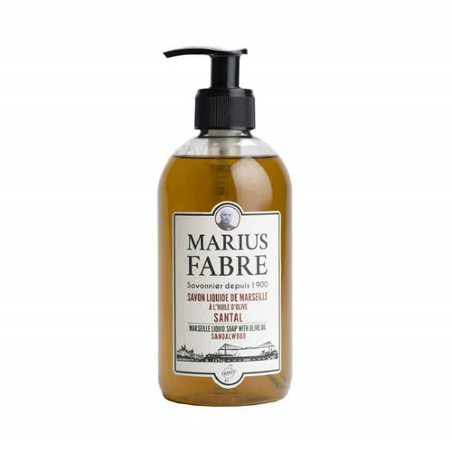 Marius Fabre Marseille Liquid Soap 400ml -Sandalwood