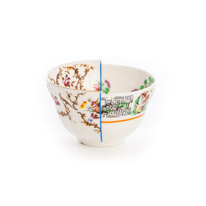 Hybrid Irene Fruit Bowl Porcelain Multicolor