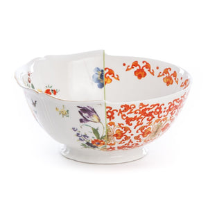 Hybrid Ersilia Salad Bowl Porcelain Multicolor