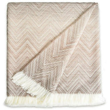 Load image into Gallery viewer, Missoni Timmy  Beige Throw - 481