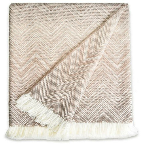 Timmy  Beige Throw