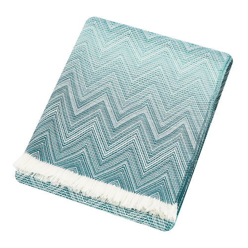 Missoni Timmy Blue Throw 741