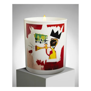 Jean-Michel Basquiat Trumpet Scented Candle