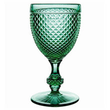 Load image into Gallery viewer, Bicos Water Goblets Set of 4 Green