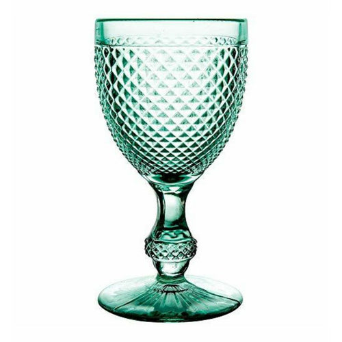 Bicos Water Goblets Set of 4 Mint Green