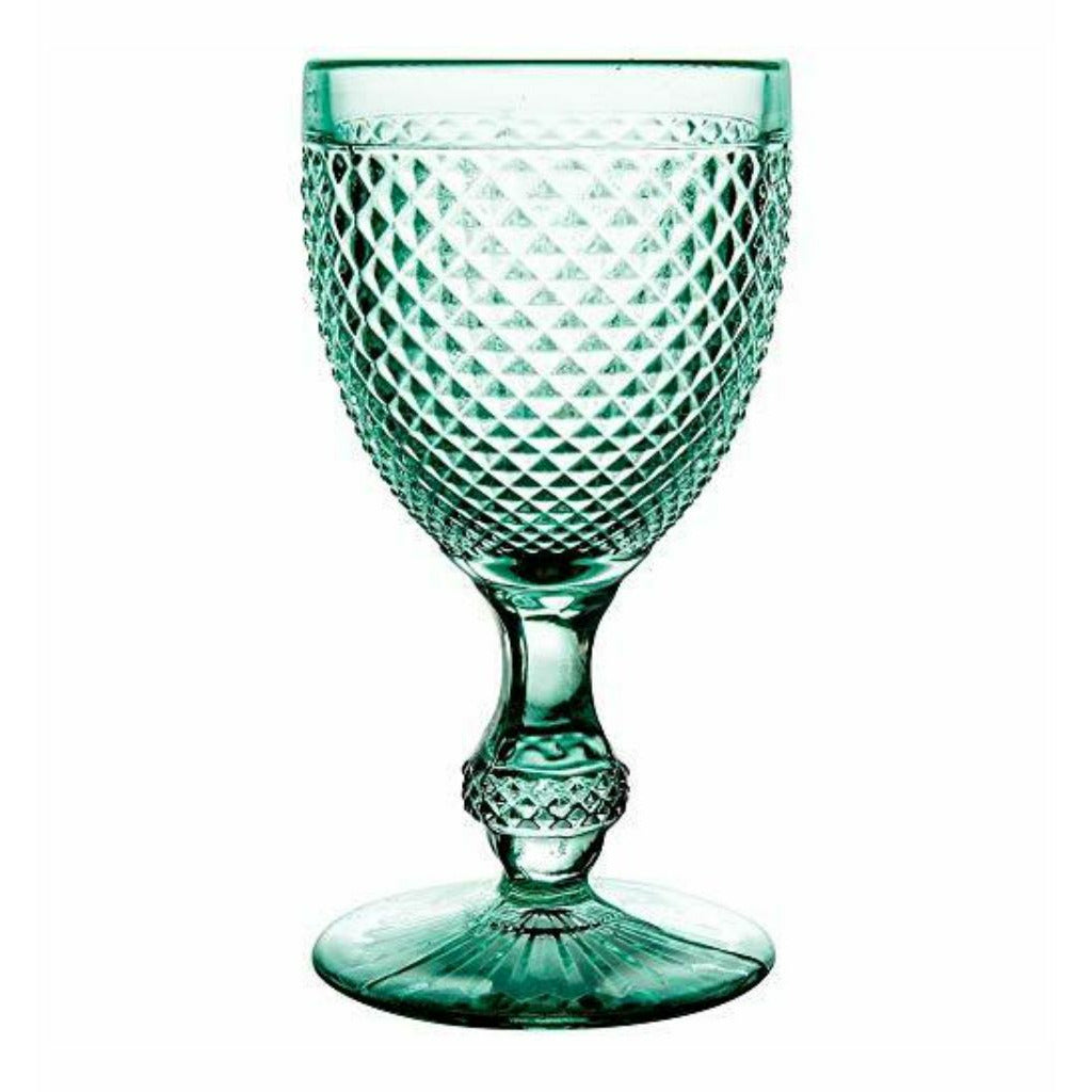 Bicos Mint Green Water Goblet (Set of 4)