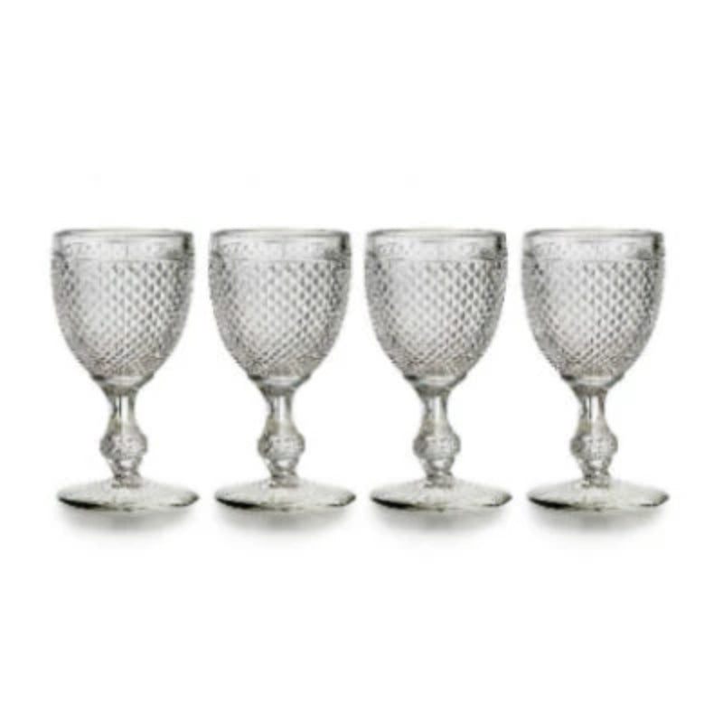 Bicos Clear Water Goblet (Set of 4)
