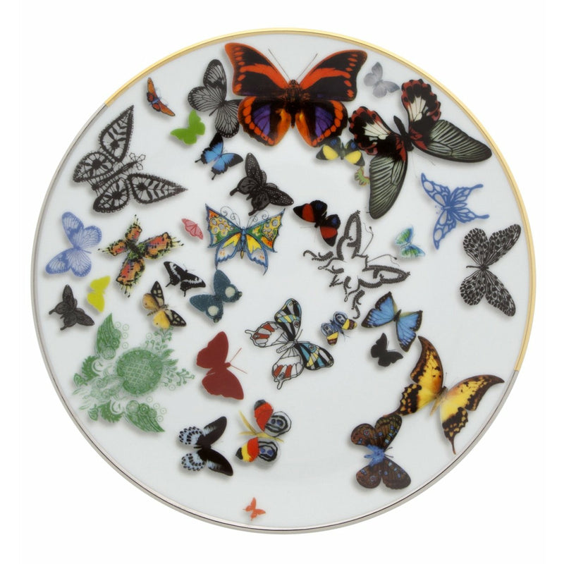 Christian Lacroix Butterfly Parade Salad / Dessert Plate