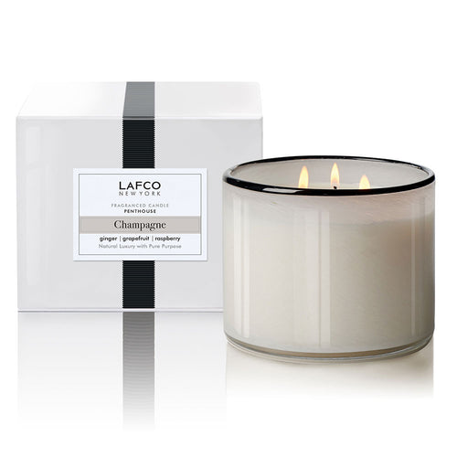 Champagne Penthouse 3-Wick Scented Candle