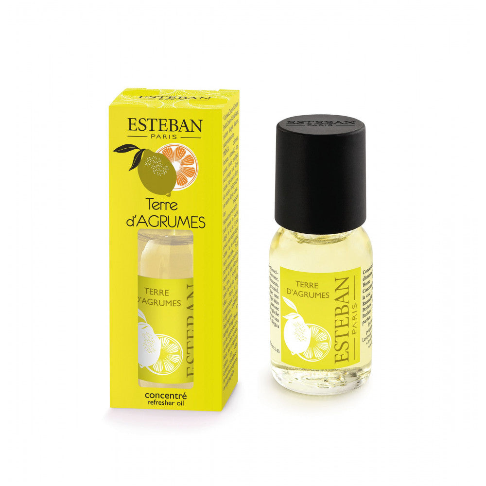 Esteban Paris Citrus Terre D'Agrumes Refresher Oil 15ml