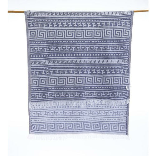Blue Turkish towel Soft Fast Drying Picnic Tequila Piscina