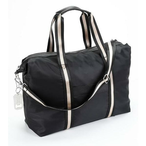Black Travel Duffle beach bag