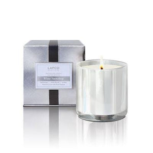 White Snowdrop Lafco Classic Scented Candle