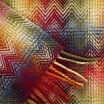 Missoni Montgomery Red Multicolored Throw 156