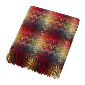 Missoni Montgomery Red Multicolored Throw - 156