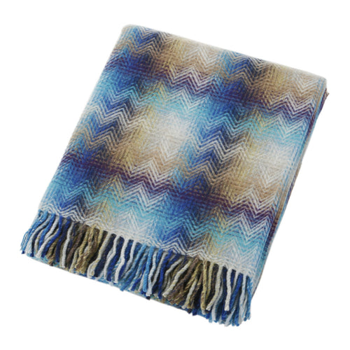 Montgomery Blue Throw