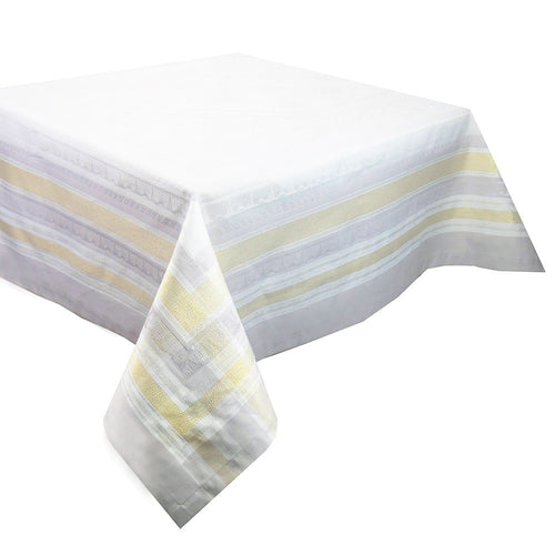"Garnier-Thiebaut Tablecloth Galerie Des Glaces Vermeil 69"" Square"