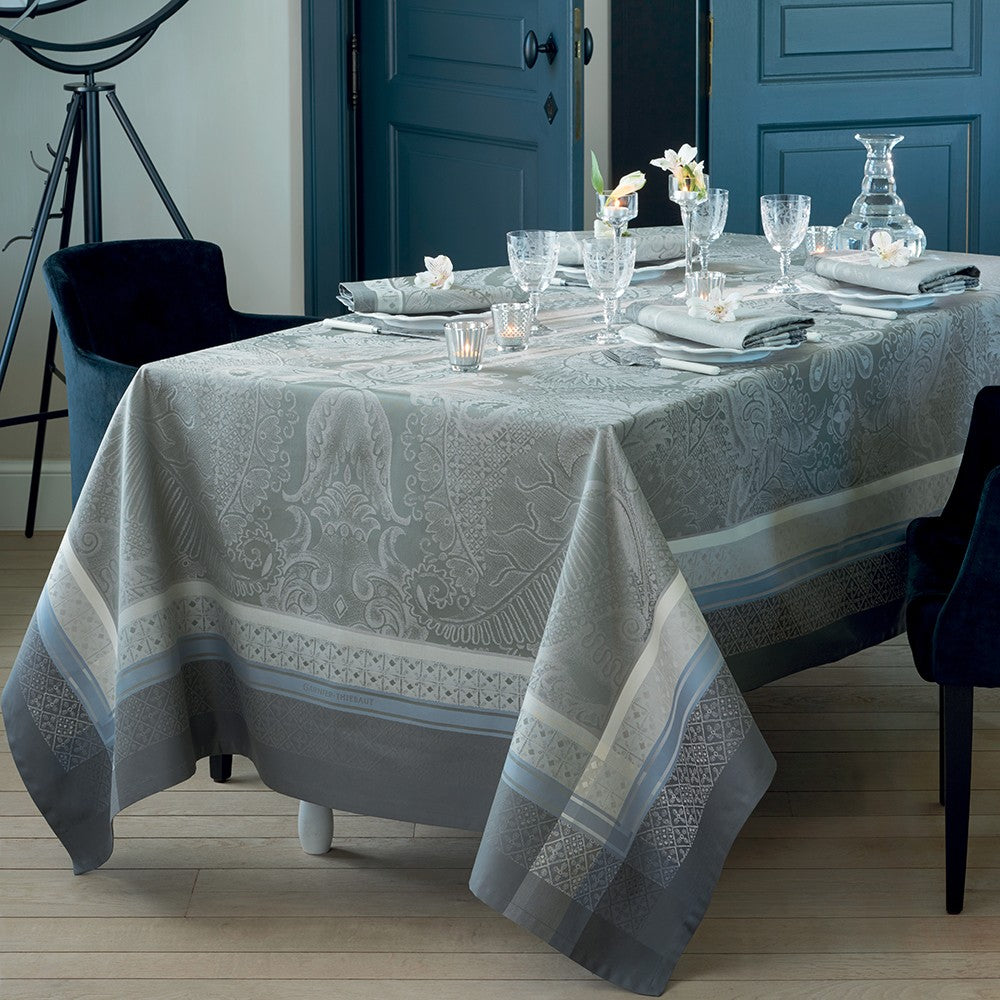 Garnier-Thiebaut Isaphire Agate Tablecloth    (sizes available)