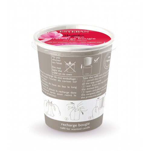 Magnolia Rosa Refill for Scented & Decorative Candle