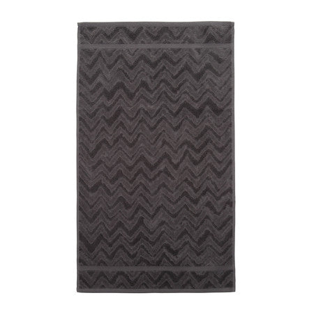 Missoni Rex Dark Grey Towel 86