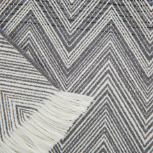 Load image into Gallery viewer, Missoni Timmy Grey Throw - 601