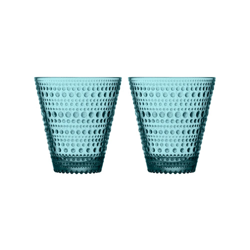 Kastehelmi Sea Blue Tumbler Set of 2