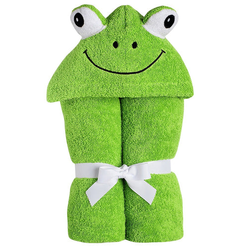 Frog Hooded Towel for Babies