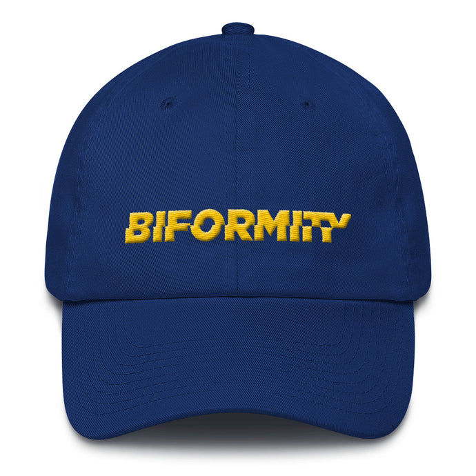 BIFORMITY Official Embroided Logo Cotton Cap [6 Colours]