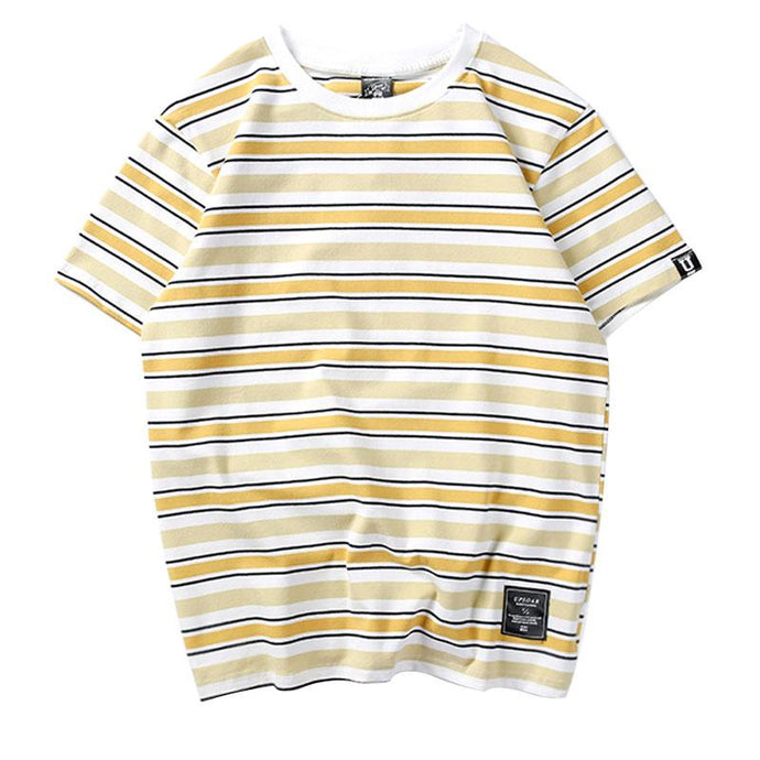 Essential Multi-colour Striped T-Shirt [7 Colours]