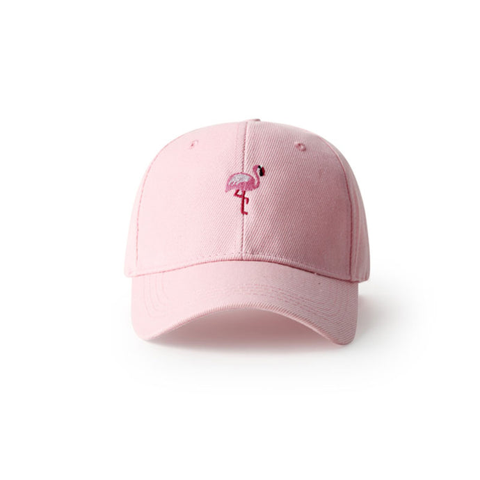 FLAMINGO Embroidered Cap [3 Colours]
