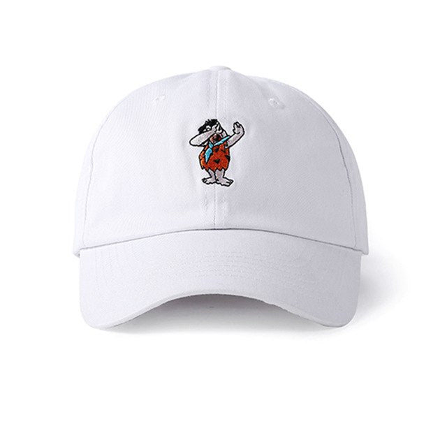 Fred Flintstone DAB Embroidered Cap [2 Colours]