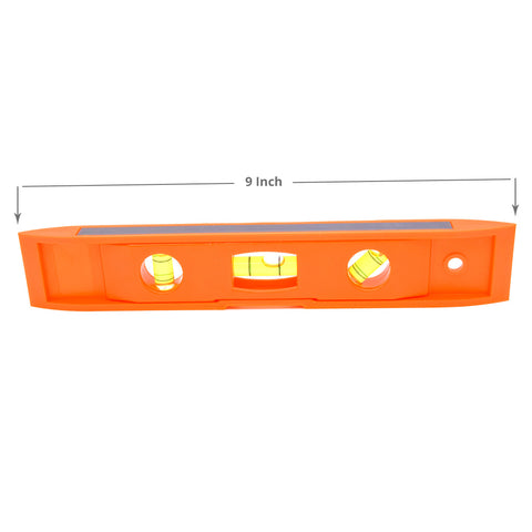 Orange Torpedo Level With Magnet