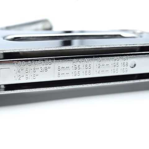 Chrome Stapler for up to 14mm Staples