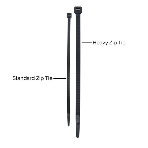Standard Cable Ties (Bag of 100)