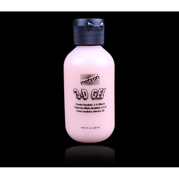 3D Gel Gelatin Effects for FX Makeup Flesh Color 2 oz bottle by Mehron in the USA sold by Extreme Makeup FX EMFX Store