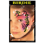Profiles Airbrush Face Painting Stencils