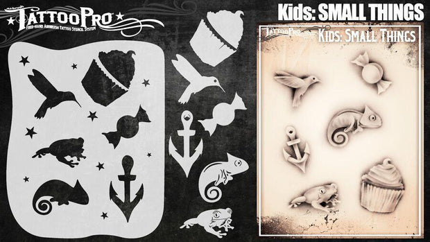 Tattoo Pro Stencils - Kids Series