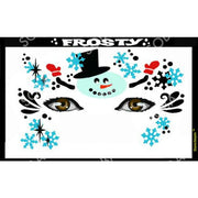 Winter Holiday Face Art Stencil Collection