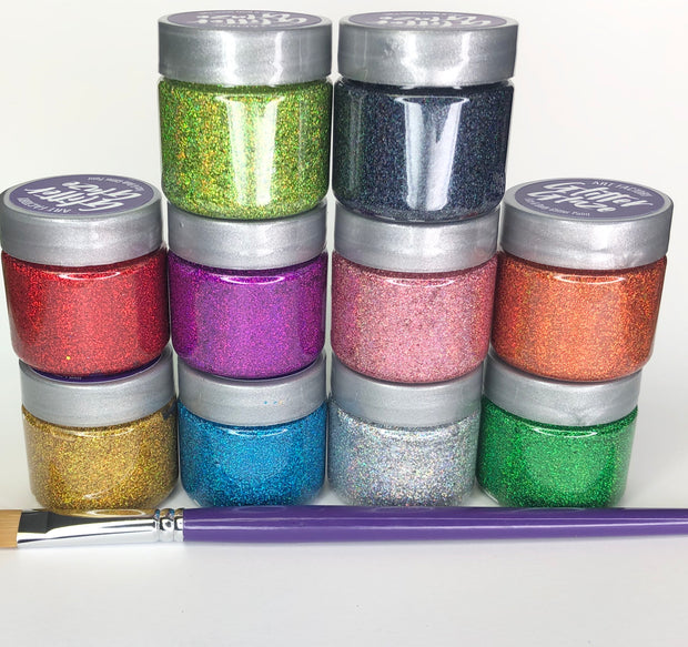 Glitter Glaze Face & Body Paint Kit