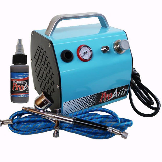 ProAiir Compressor w/ Gravity Feed Airbrush