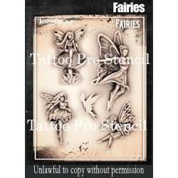 Tattoo Pro Airbrush Stencils - Series 5 & 6