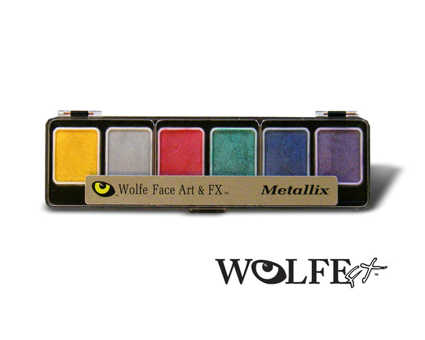 Wolfe Metallix Palette 6 color