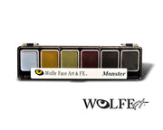 Wolfe Monster Face Paint Palette