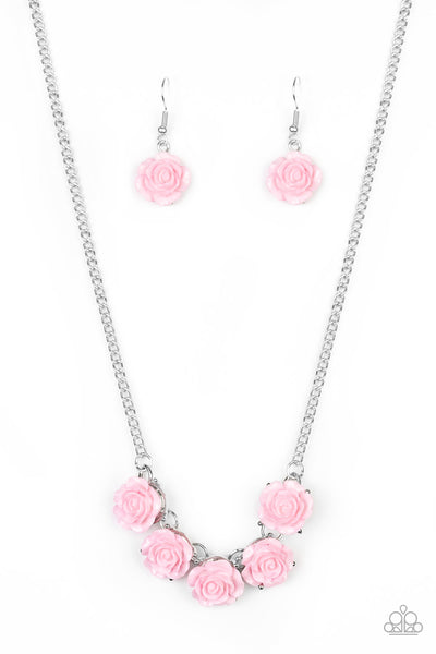 Paparazzi Garden Party Posh - Necklace Pink Box 81