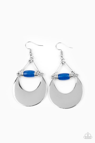 Paparazzi Mystical Moonbeams - Earrings Blue Box 83