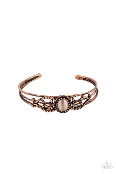Paparazzi Wait and SEER - Bracelet Copper Box 81