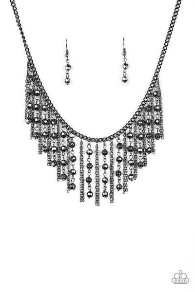 Paparazzi Rebel Remix - Necklace Black Box 87