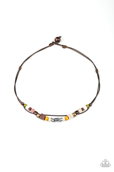Paparazzi Beach Quest - Urban Necklace Multi Box 5